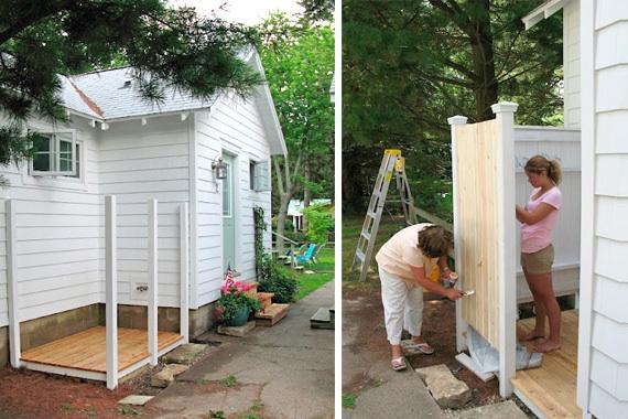 outdoor showers courtney trice. Black Bedroom Furniture Sets. Home Design Ideas